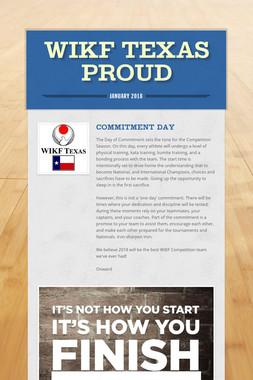 WIKF Texas Proud