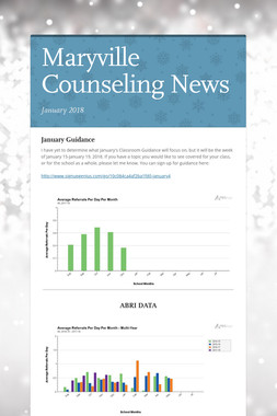 Maryville Counseling News