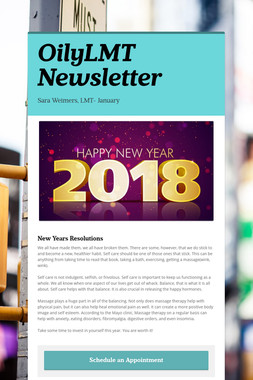 OilyLMT Newsletter