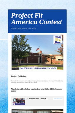 Project Fit America Contest
