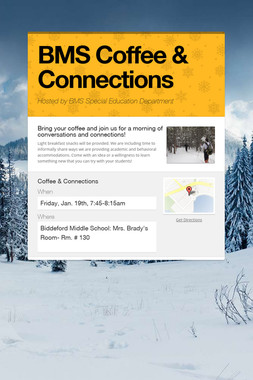 BMS Coffee & Connections