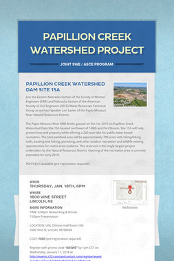 Papillion Creek Watershed Project
