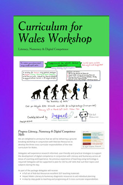 Curriculum for Wales Workshop