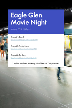 Eagle Glen Movie Night