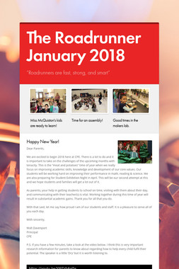 The Roadrunner January 2018