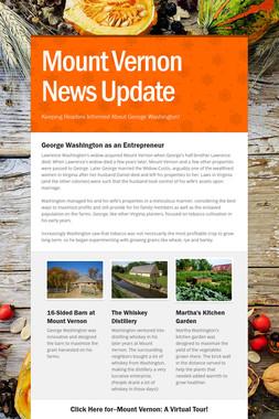Mount Vernon News Update