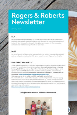 Rogers & Roberts Newsletter