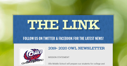 The LINK | Smore Newsletters
