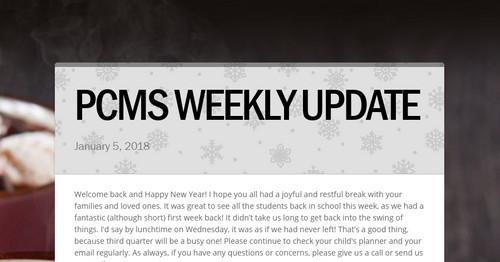 pcms homework portal