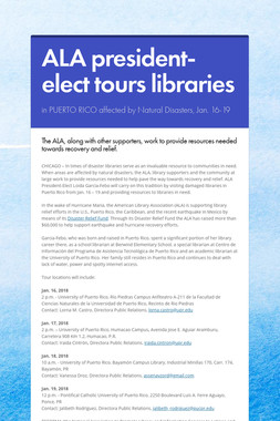ALA president-elect tours libraries