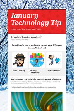 January Technology Tip