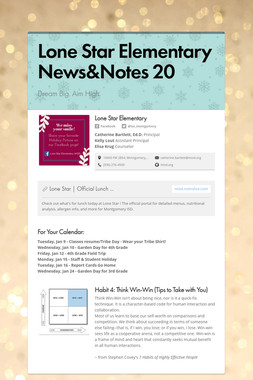Lone Star Elementary News&Notes 20
