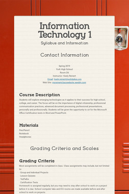 Information Technology 1