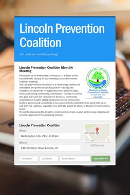Lincoln Prevention Coalition
