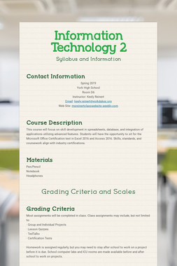 Information Technology 2