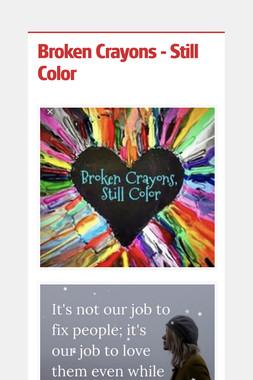 Broken Crayons - Still Color