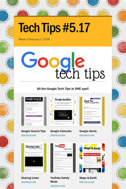Tech Tips #5.17