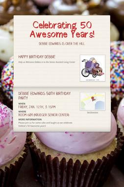 Celebrating 50 Awesome Years!