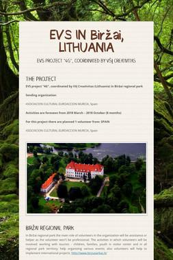 EVS IN Biržai, LITHUANIA