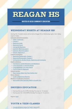 Reagan HS