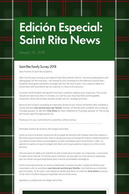 Edición Especial: Saint Rita News