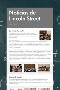 Noticias de Lincoln Street