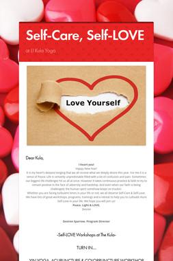 Self-Care, Self-LOVE