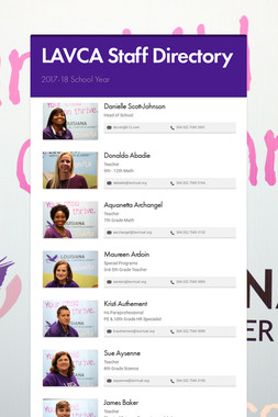 LAVCA Staff Directory