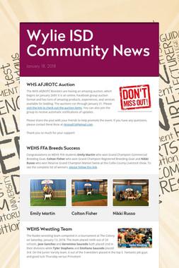 Wylie ISD Community News
