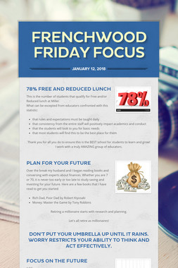 Frenchwood Friday Focus