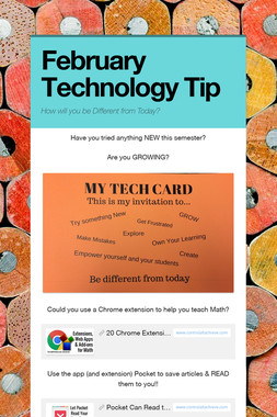 February Technology Tip