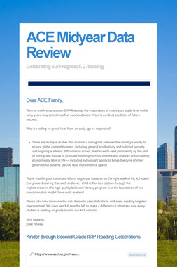 ACE Midyear Data Review