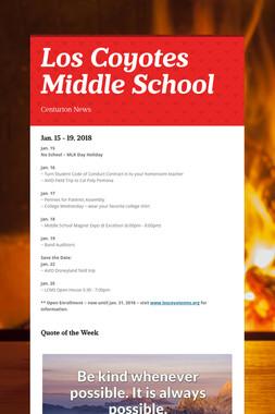 Los Coyotes Middle School