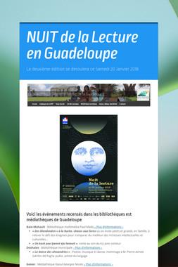 NUIT de la Lecture en Guadeloupe