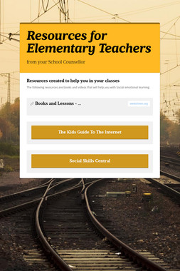 Resources for Elementary Teachers