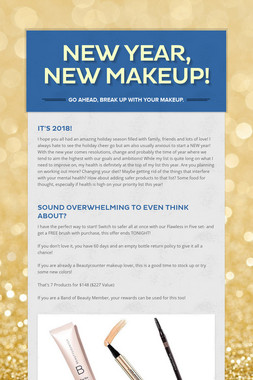 New Year, New Makeup!