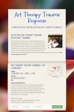 Art Therapy Trauma Response