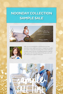 Noonday Collection Sample Sale