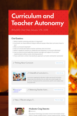 Curriculum and Teacher Autonomy