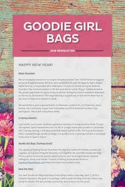 Goodie Girl Bags