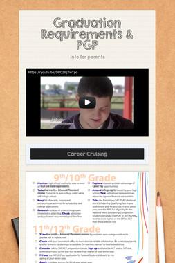 Graduation Requirements & PGP