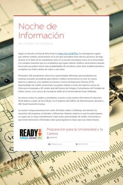 Noche de Información