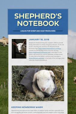 Shepherd's Notebook