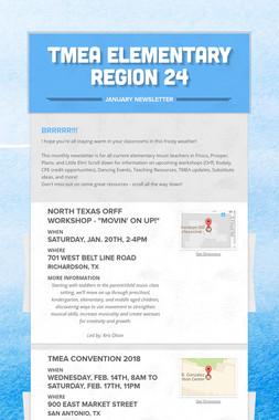 TMEA Elementary Region 24