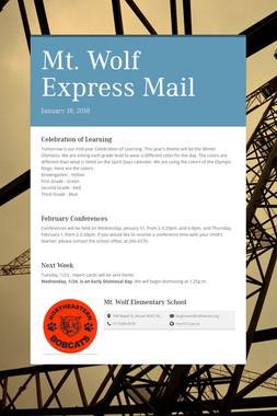 Mt. Wolf Express Mail