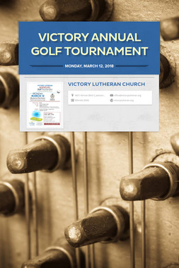 Victory Annual Golf Tournament