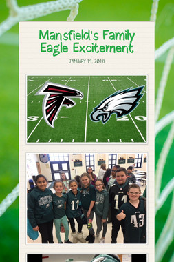 Mansfield's Family Eagle Excitement