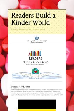 Readers Build a Kinder World