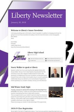 Liberty Newsletter