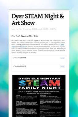 Dyer STEAM Night & Art Show